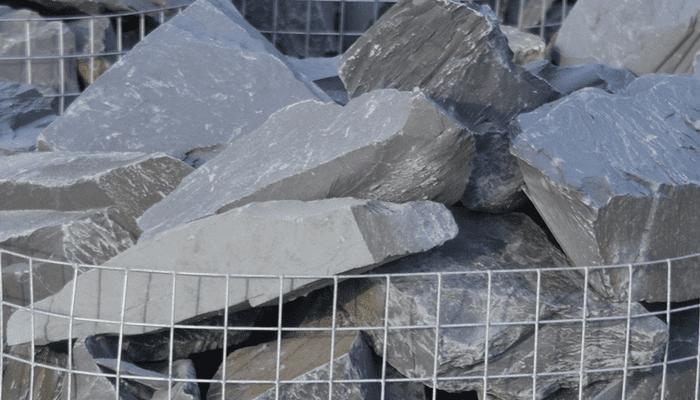 Welsh Black Slate Rockery