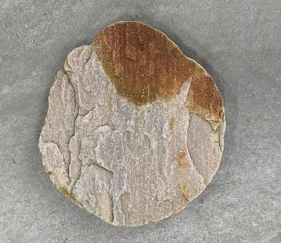 Buff Quartz Stepping Stone