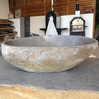 Indonesian Riverstone Bowl