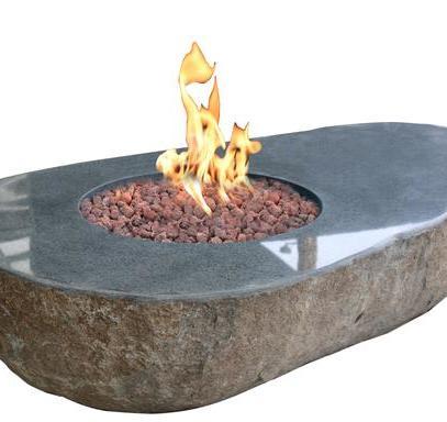 Flaming Avocado Firepit