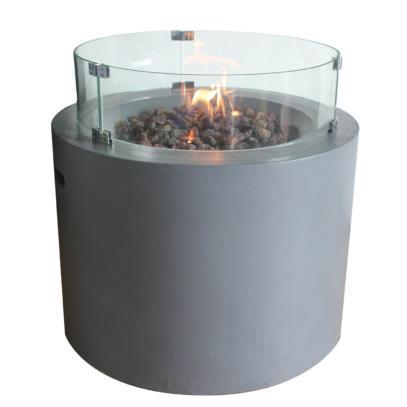 Sarin firepit Glass Screen