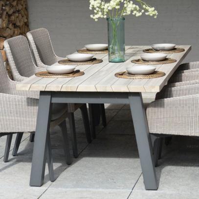 Derby Teak Dining Table 240cm x 100cm